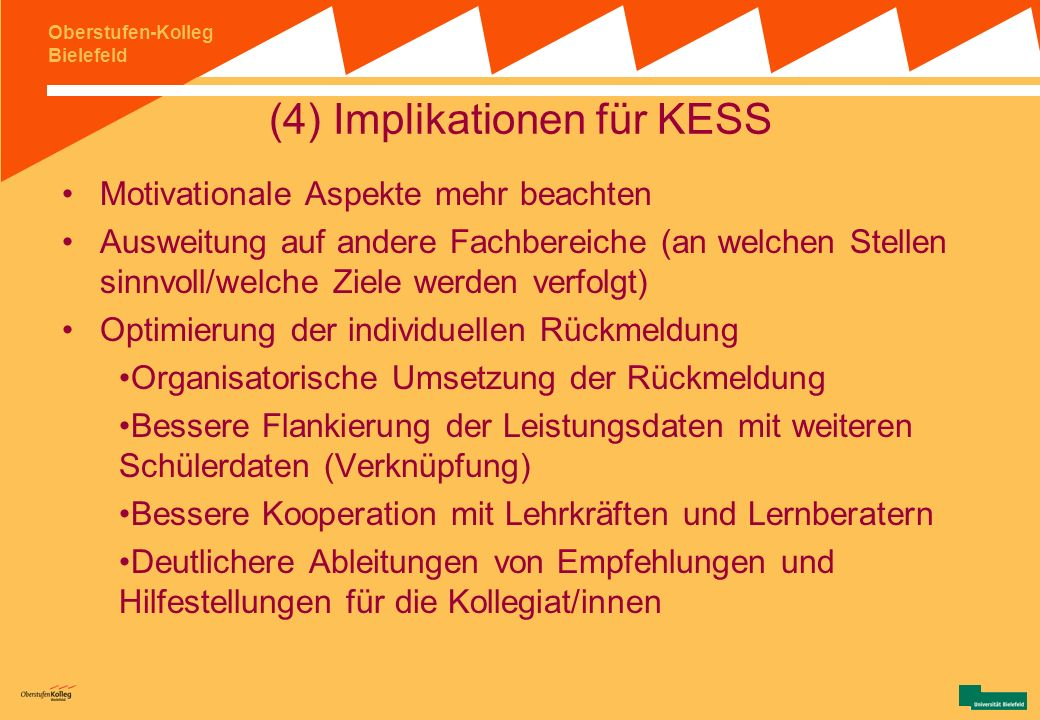 (4) Implikationen für KESS