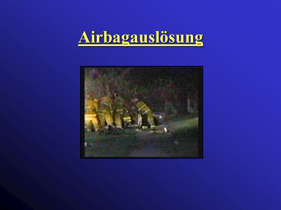 Airbagauslösung