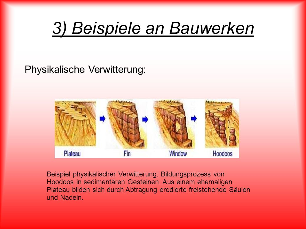 3) Beispiele an Bauwerken