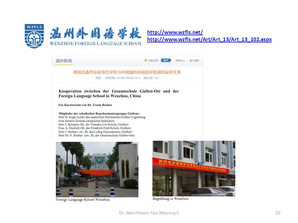 Dr. Wan-Hsuan Yao-Weyrauch