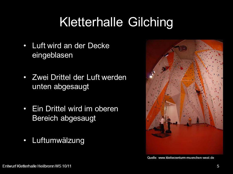 Kletterhalle Gilching