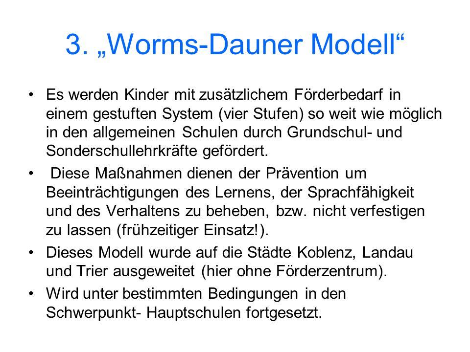 "3. ""Worms-Dauner Modell"