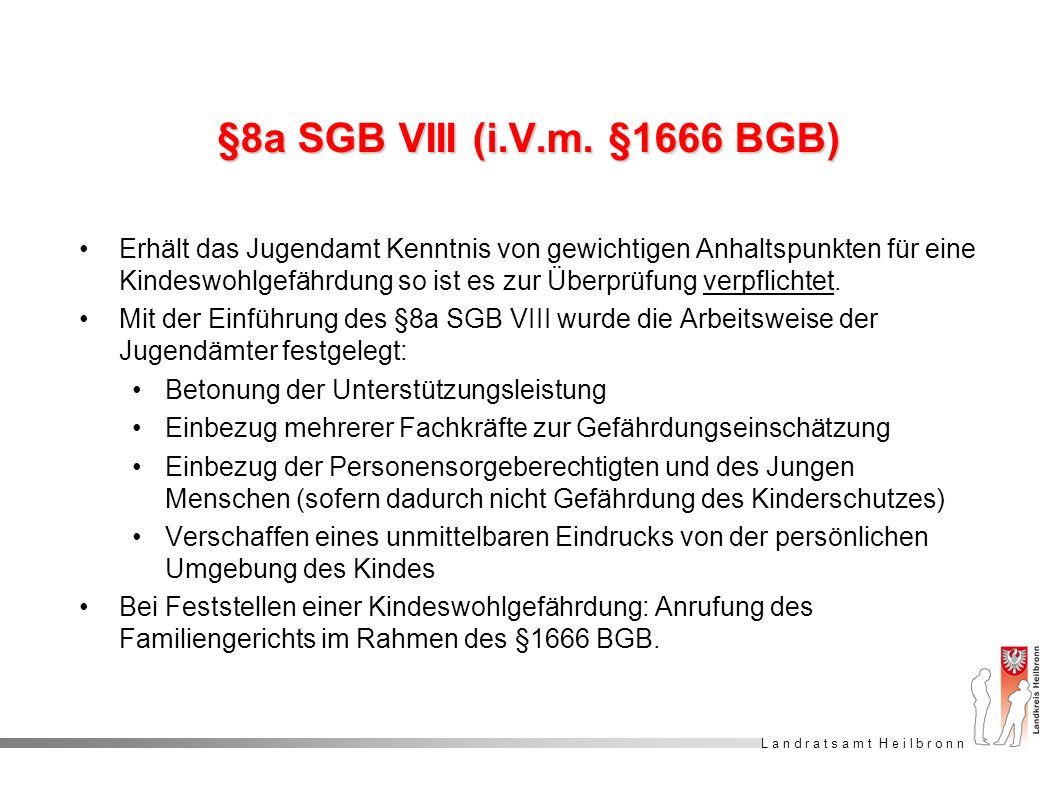 §8a SGB VIII (i.V.m. §1666 BGB)