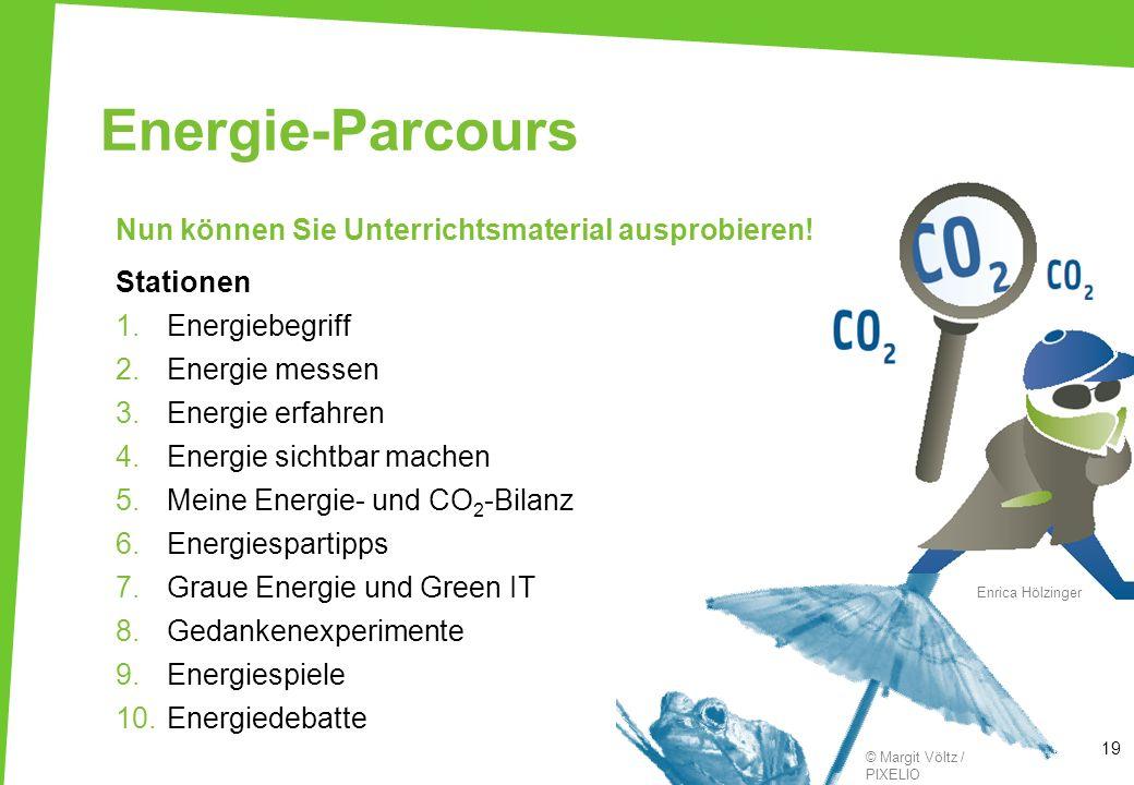 Energie-Parcours Nun können Sie Unterrichtsmaterial ausprobieren!