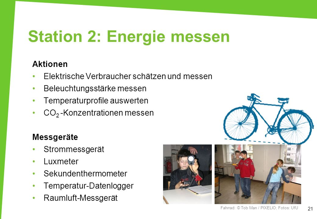 Station 2: Energie messen