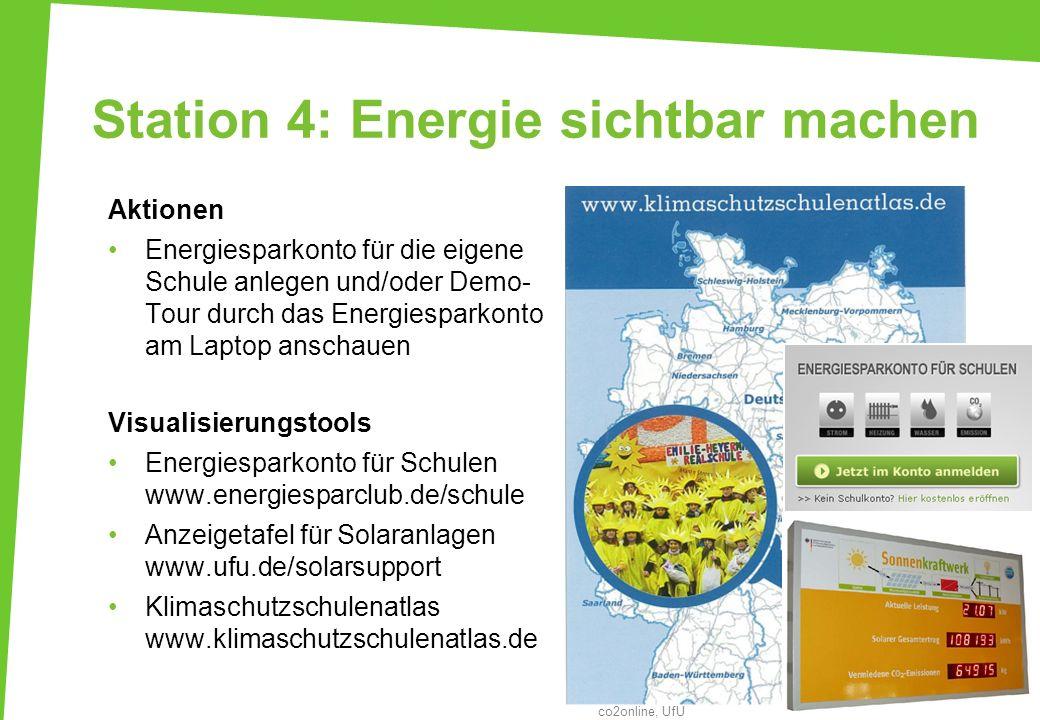 Station 4: Energie sichtbar machen