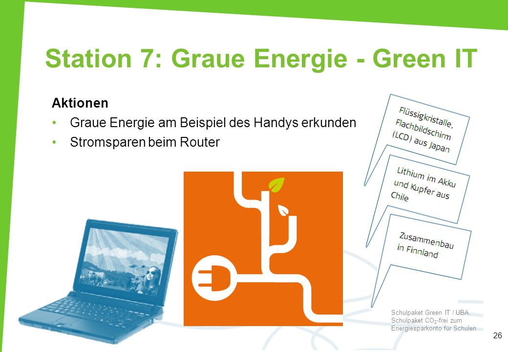 Station 7: Graue Energie - Green IT