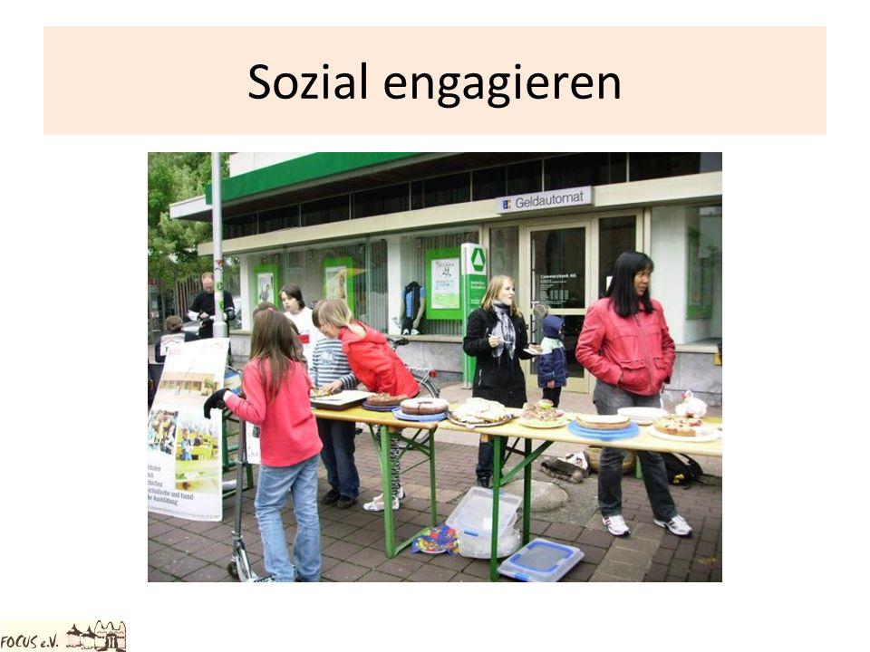 Sozial engagieren