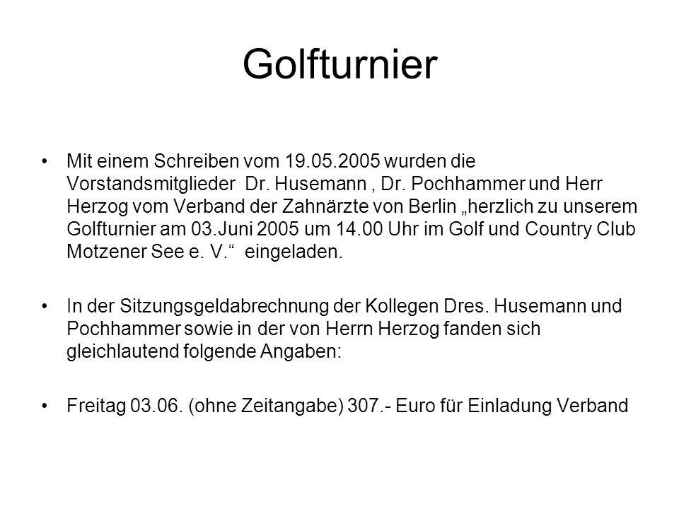 Golfturnier
