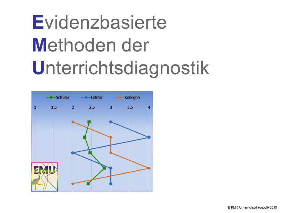 Evidenzbasierte Methoden der Unterrichtsdiagnostik