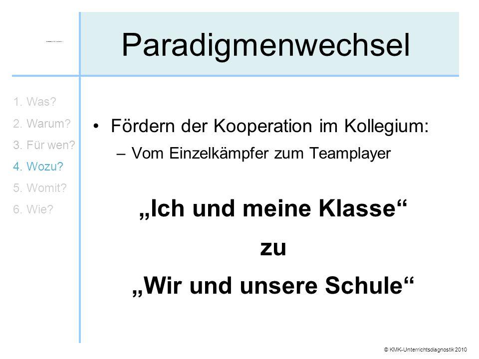 """""""Wir und unsere Schule"""