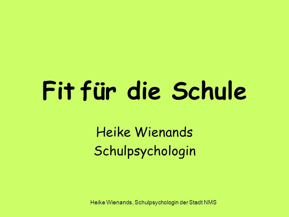 Heike Wienands Schulpsychologin