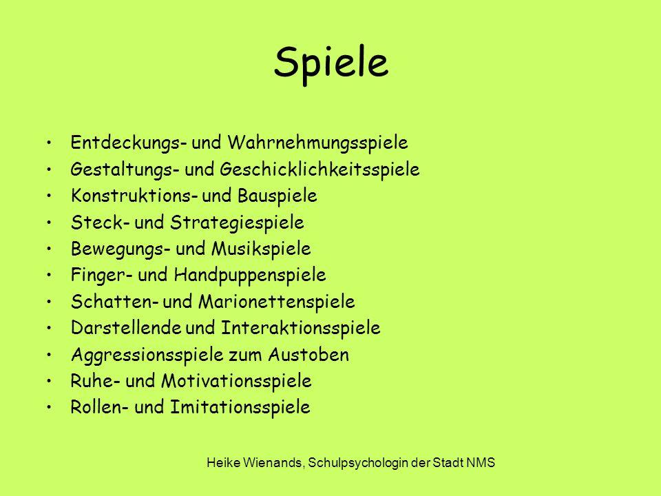 Heike Wienands, Schulpsychologin der Stadt NMS