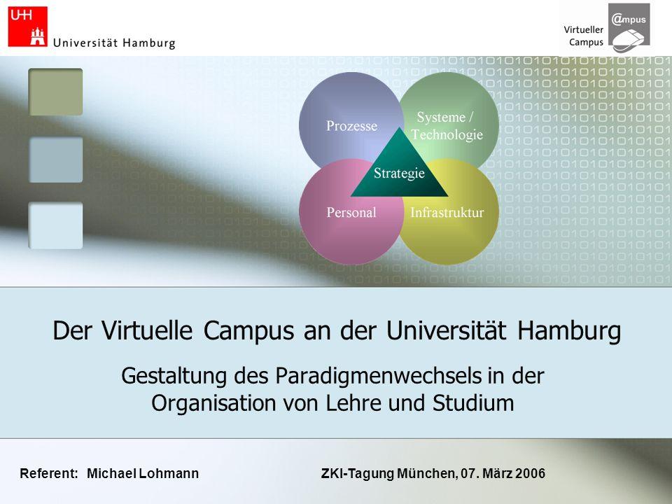 Der Virtuelle Campus an der Universität Hamburg