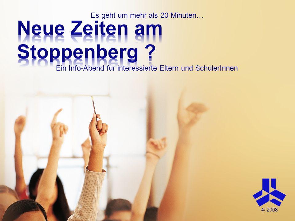 Neue Zeiten am Stoppenberg
