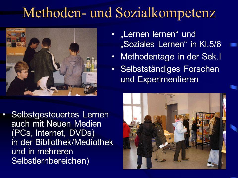 Methoden- und Sozialkompetenz