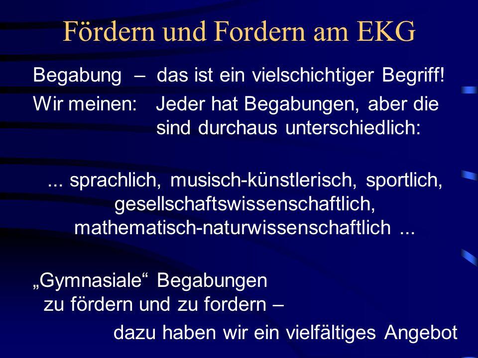 Fördern und Fordern am EKG