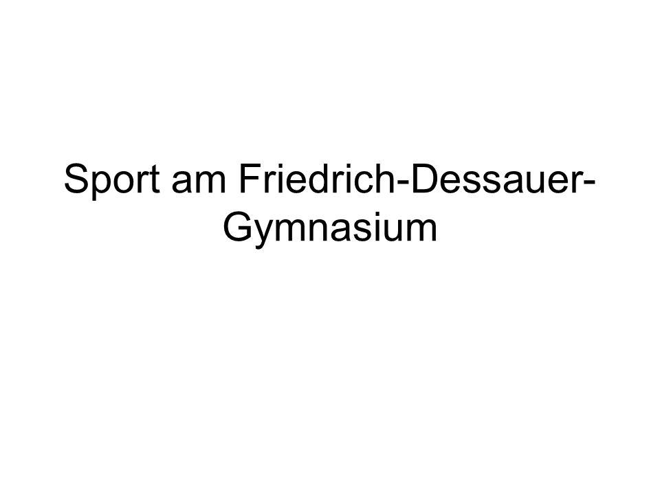 Sport am Friedrich-Dessauer-Gymnasium