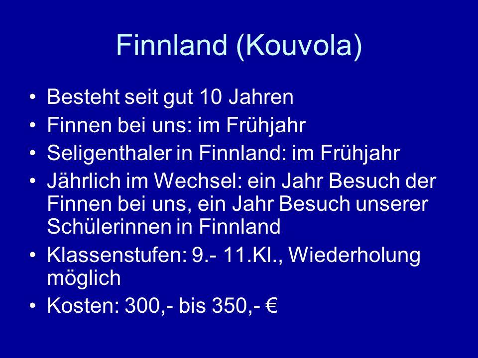 Finnland (Kouvola) Besteht seit gut 10 Jahren