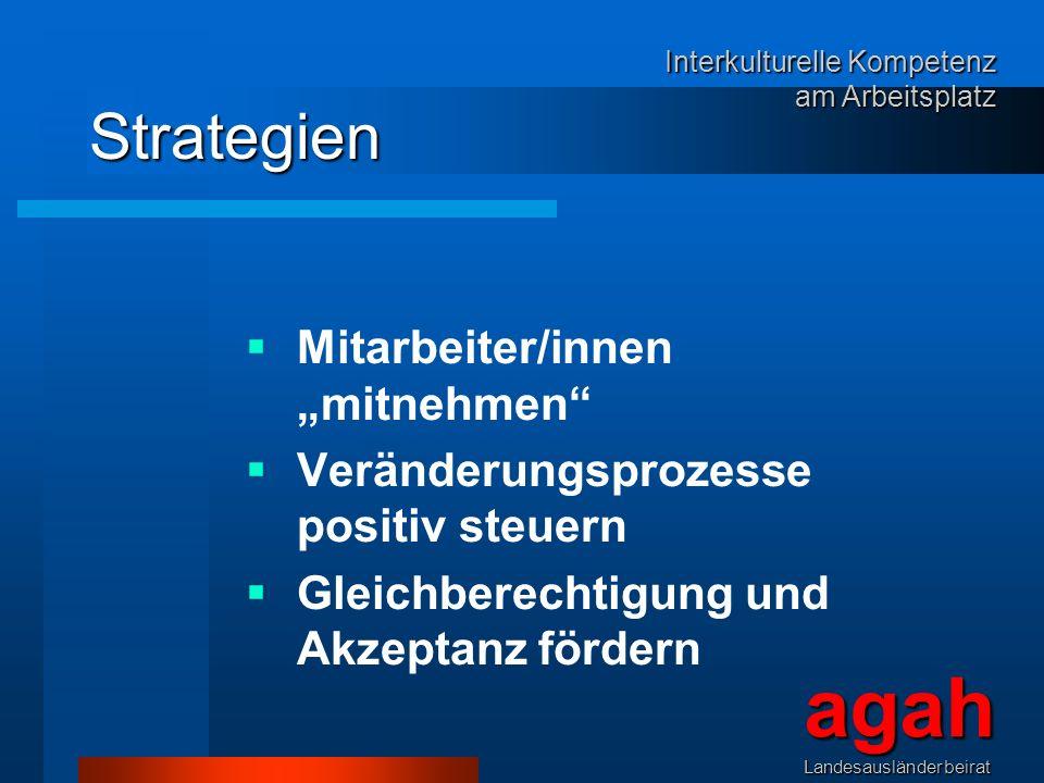 """agah Strategien Mitarbeiter/innen """"mitnehmen"""