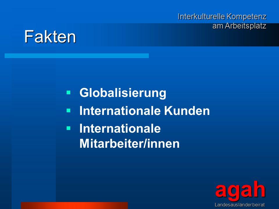 agah Fakten Globalisierung Internationale Kunden