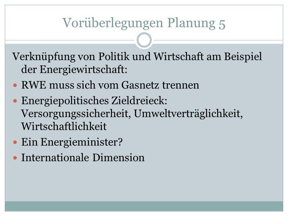 Vorüberlegungen Planung 5