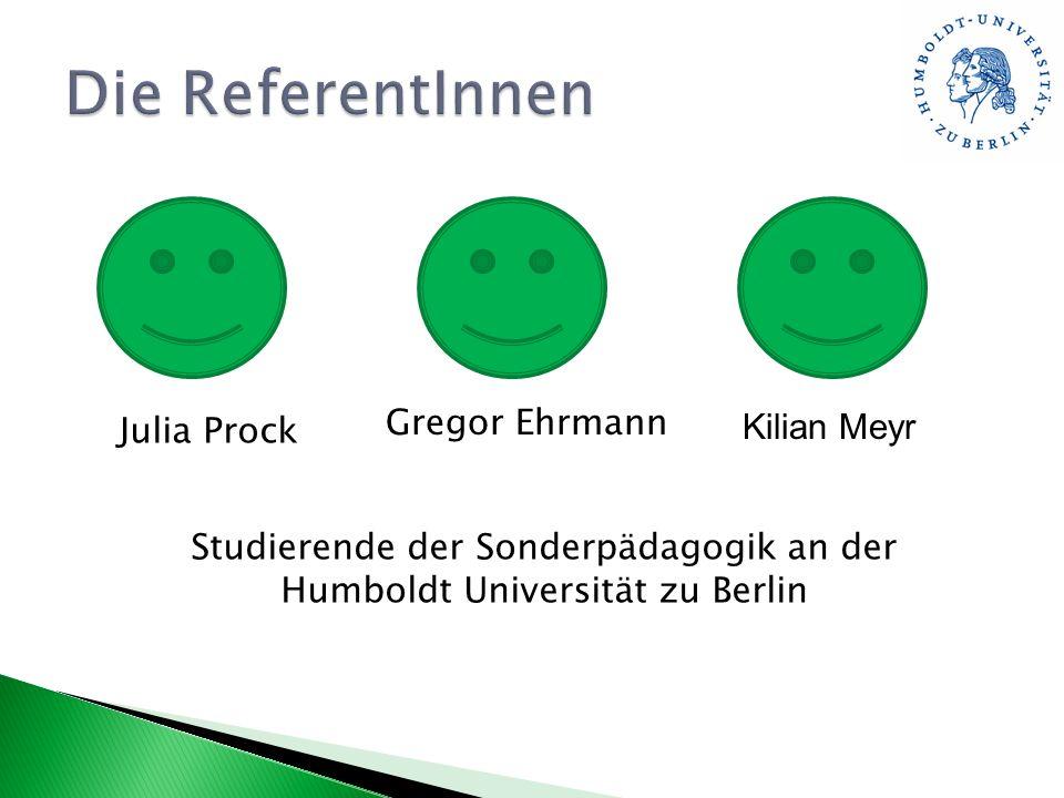 Studierende der Sonderpädagogik an der Humboldt Universität zu Berlin