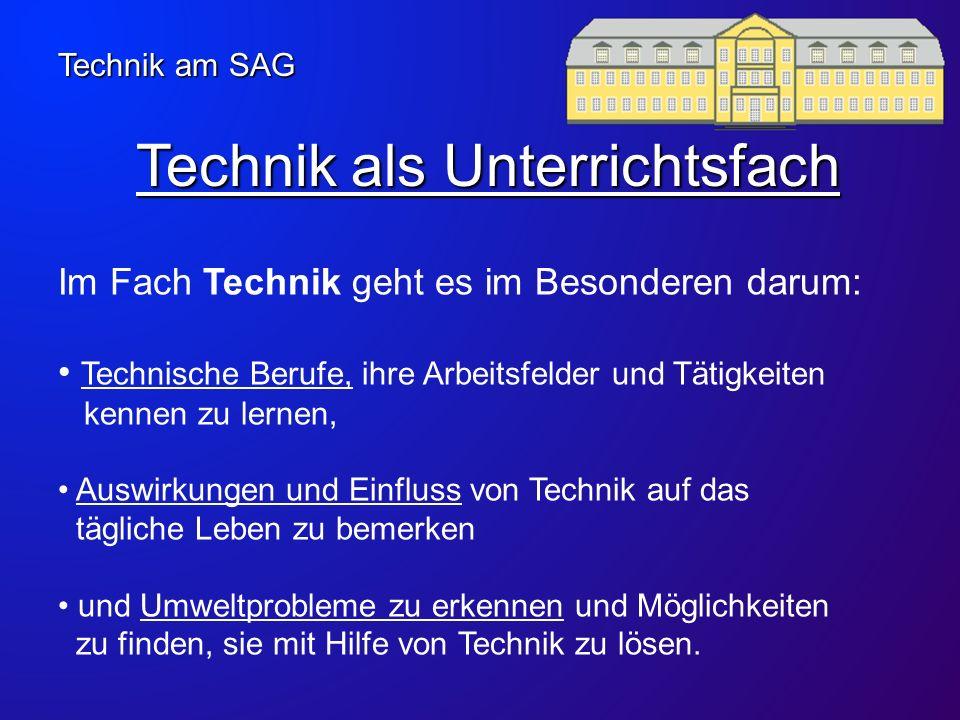 Technik als Unterrichtsfach