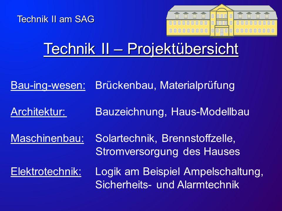 Technik II – Projektübersicht