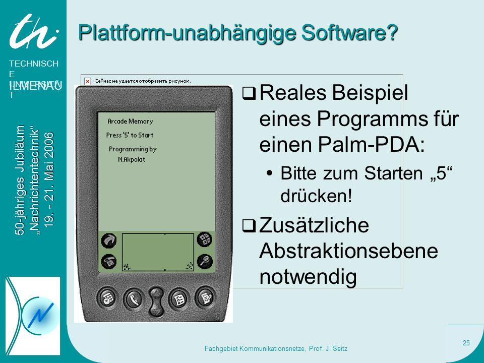 Plattform-unabhängige Software
