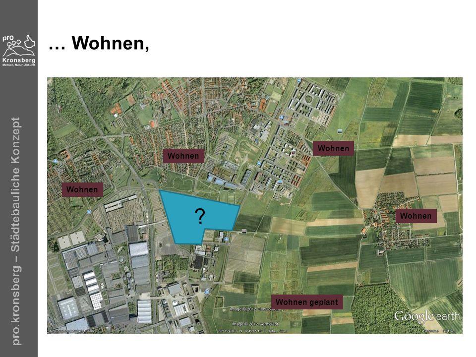 … Wohnen, pro.kronsberg – Städtebauliche Konzept Wohnen Wohnen