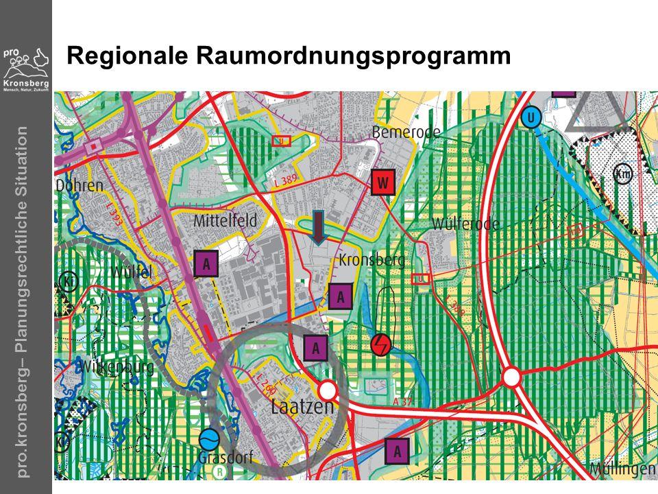 Regionale Raumordnungsprogramm