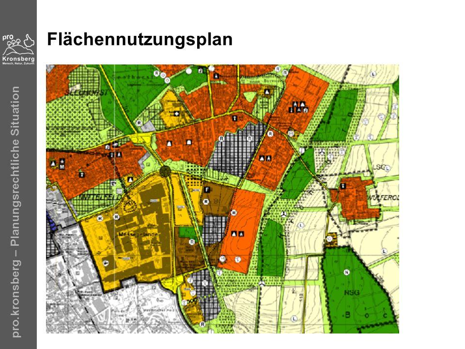 Flächennutzungsplan pro.kronsberg – Planungsrechtliche Situation