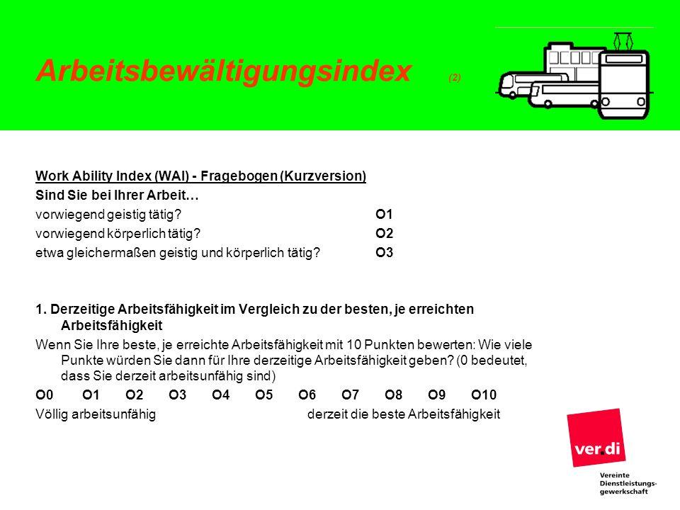Arbeitsbewältigungsindex (2)