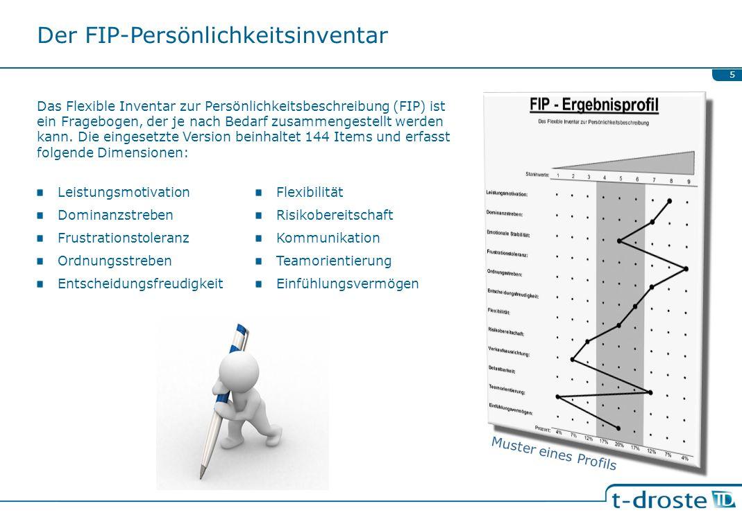 Der FIP-Persönlichkeitsinventar