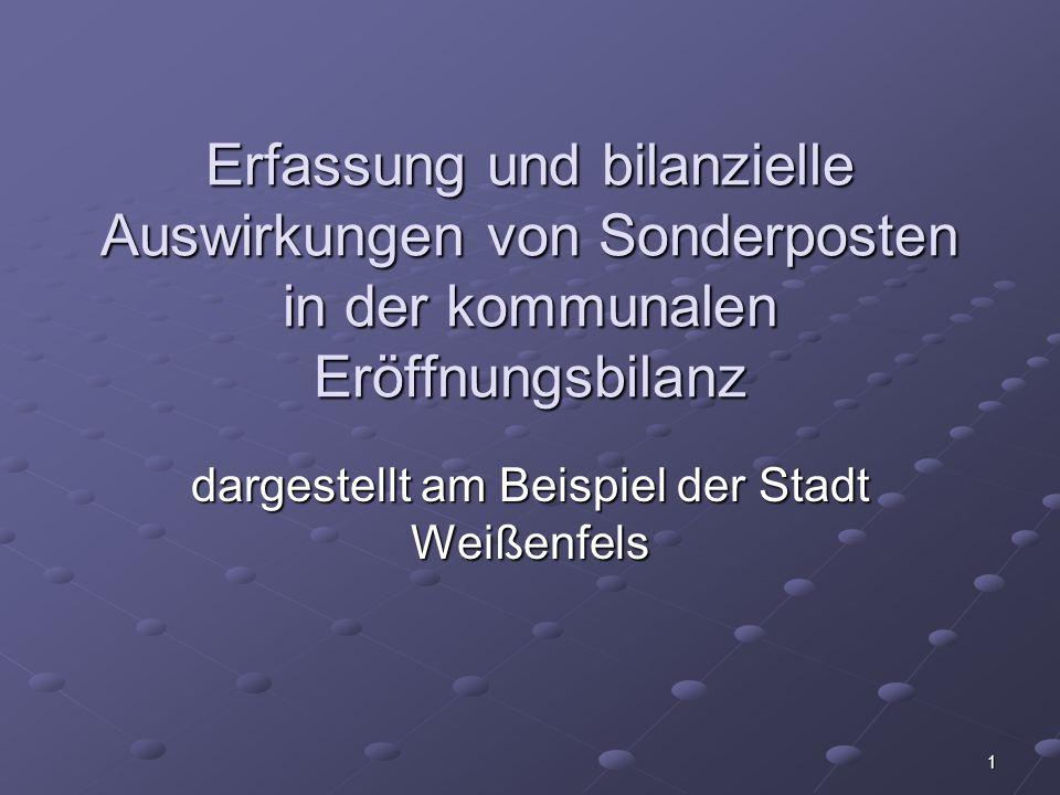 dargestellt am Beispiel der Stadt Weißenfels