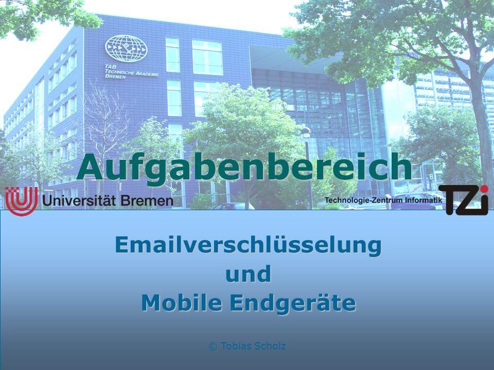 Emailverschlüsselung und Mobile Endgeräte