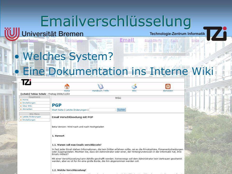 Emailverschlüsselung
