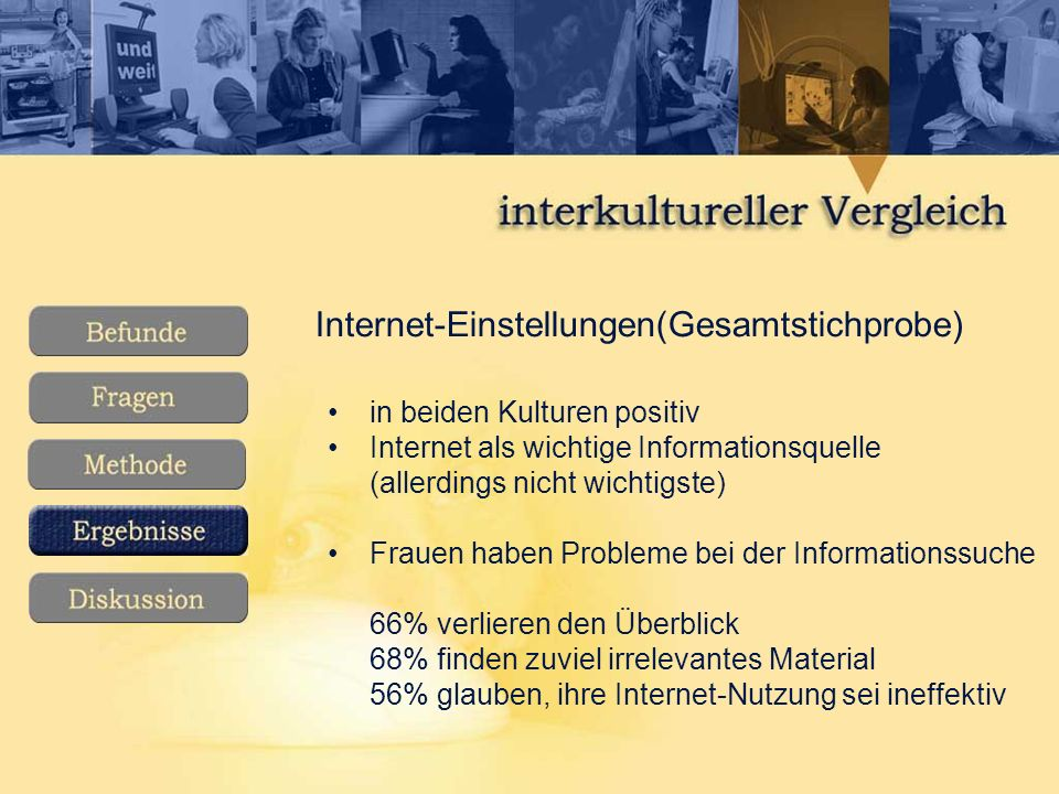 Internet-Einstellungen(Gesamtstichprobe)
