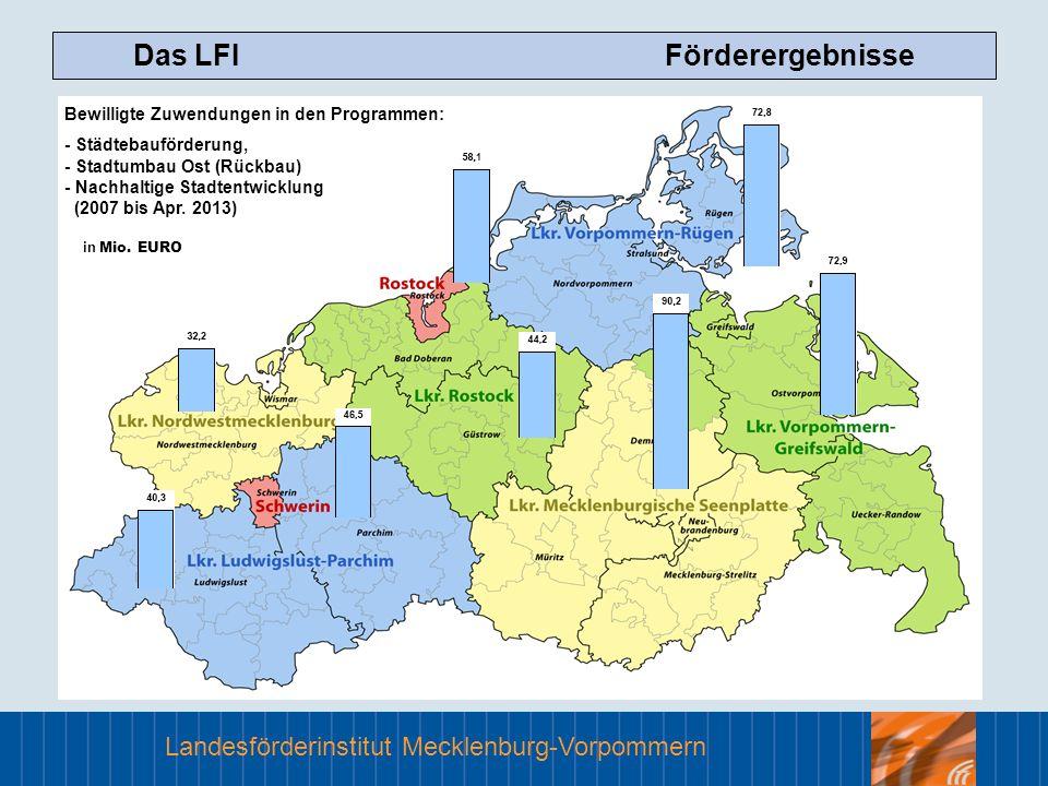 Das LFI Förderergebnisse