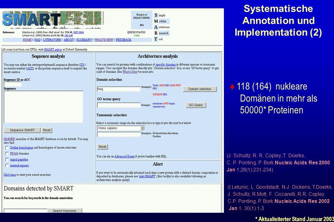 Systematische Annotation und Implementation (2)