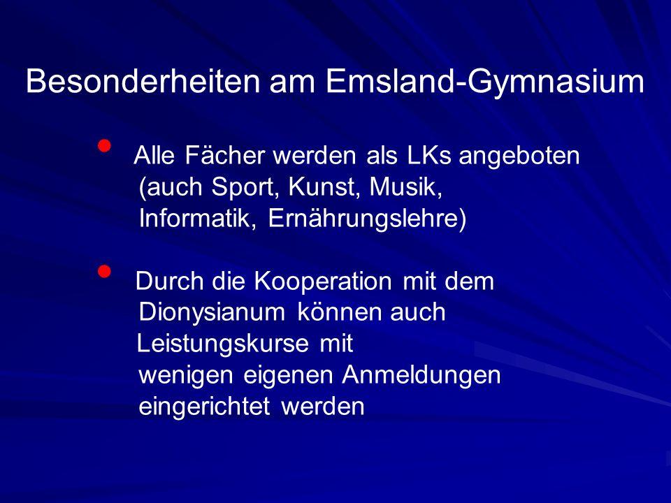 Besonderheiten am Emsland-Gymnasium