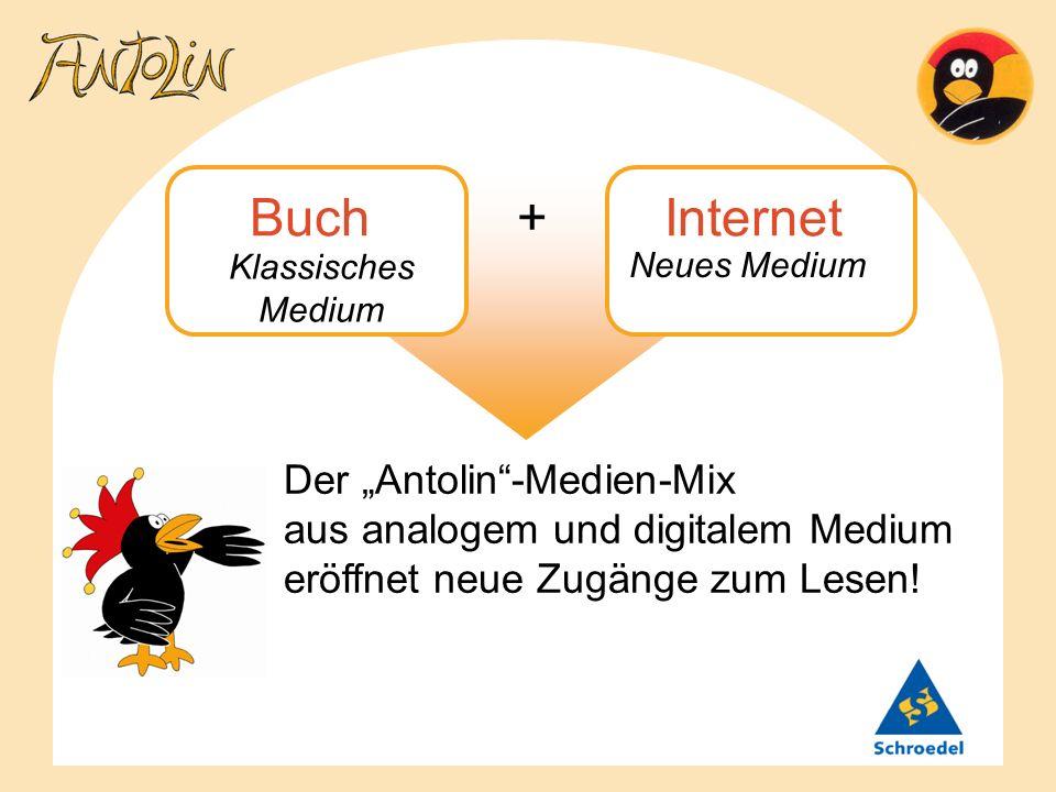 Buch + InternetKlassisches Medium. Neues Medium.