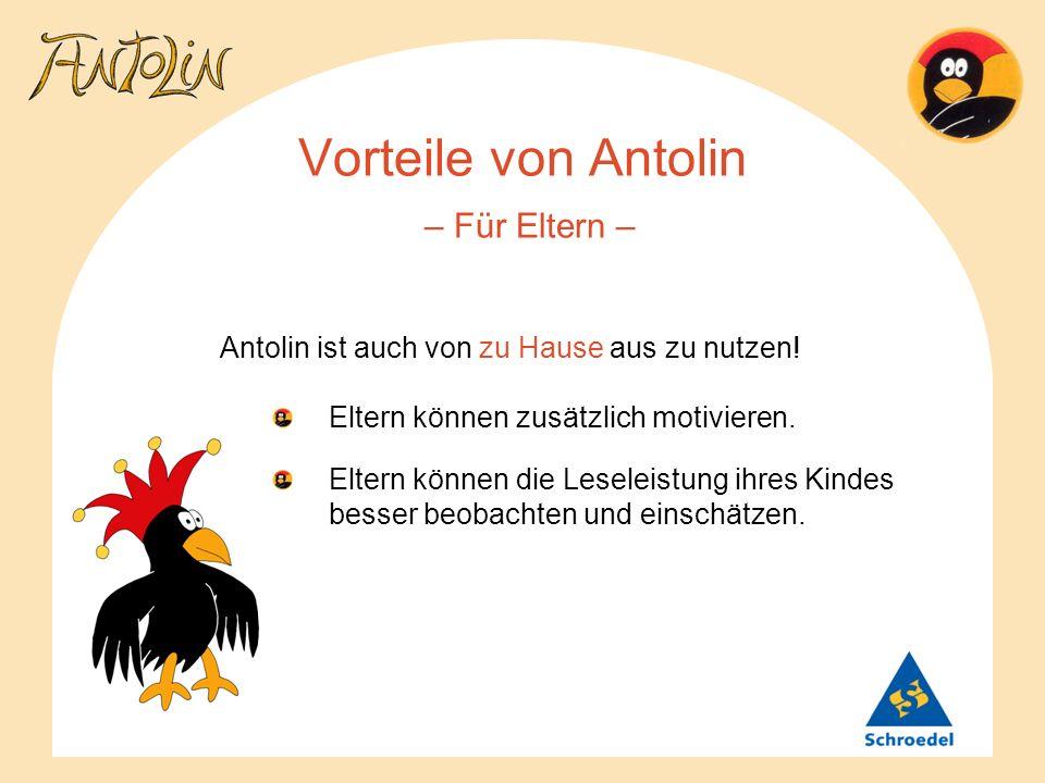 Vorteile von Antolin – Für Eltern –