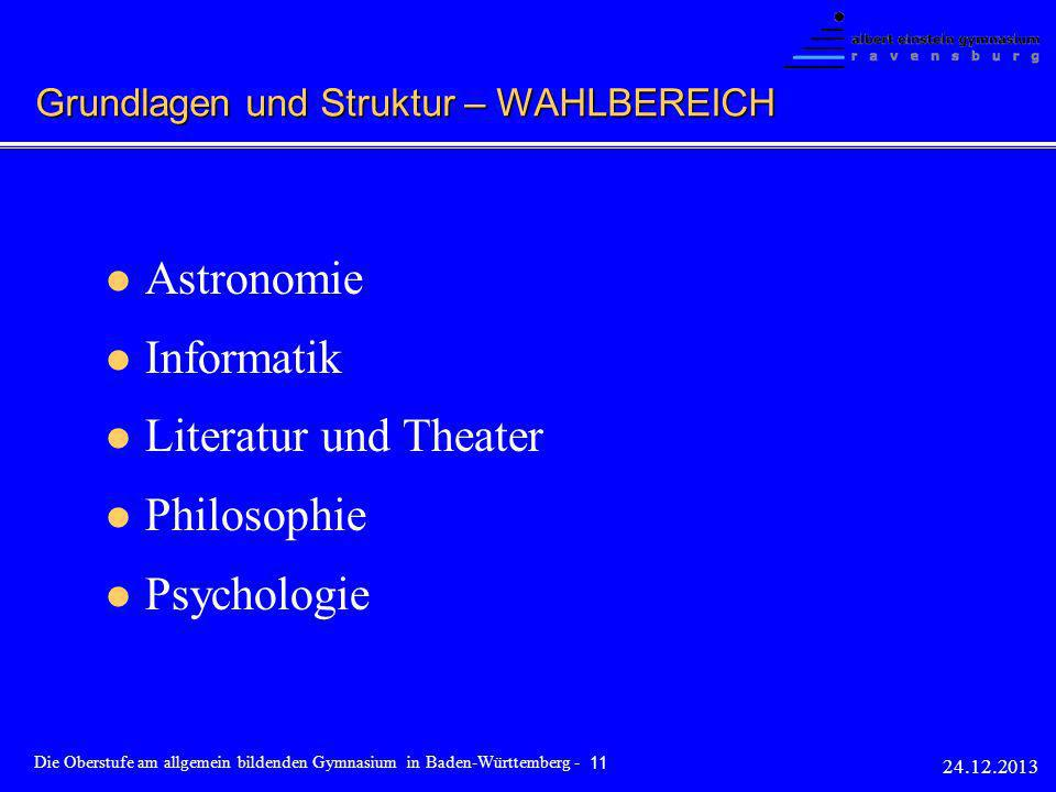 Astronomie Informatik Literatur und Theater Philosophie Psychologie