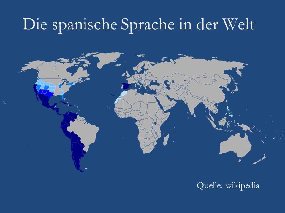 Die spanische Sprache in der Welt