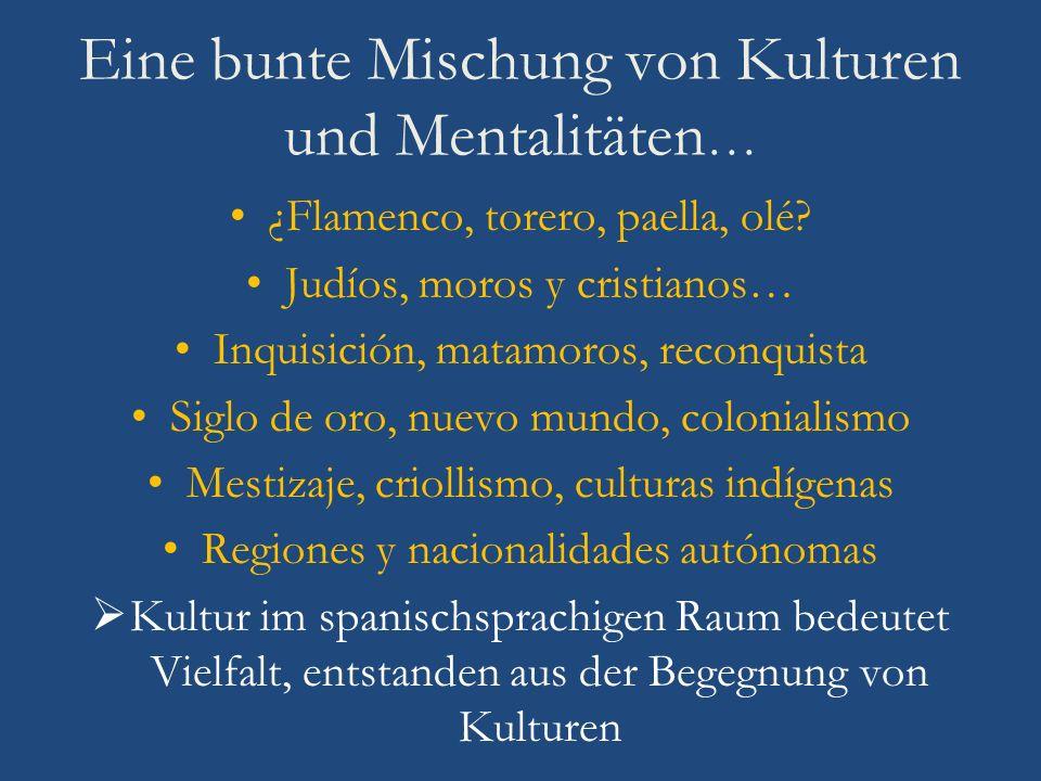 Eine bunte Mischung von Kulturen und Mentalitäten…
