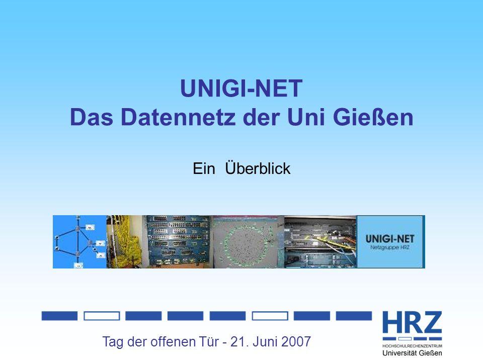 UNIGI-NET Das Datennetz der Uni Gießen
