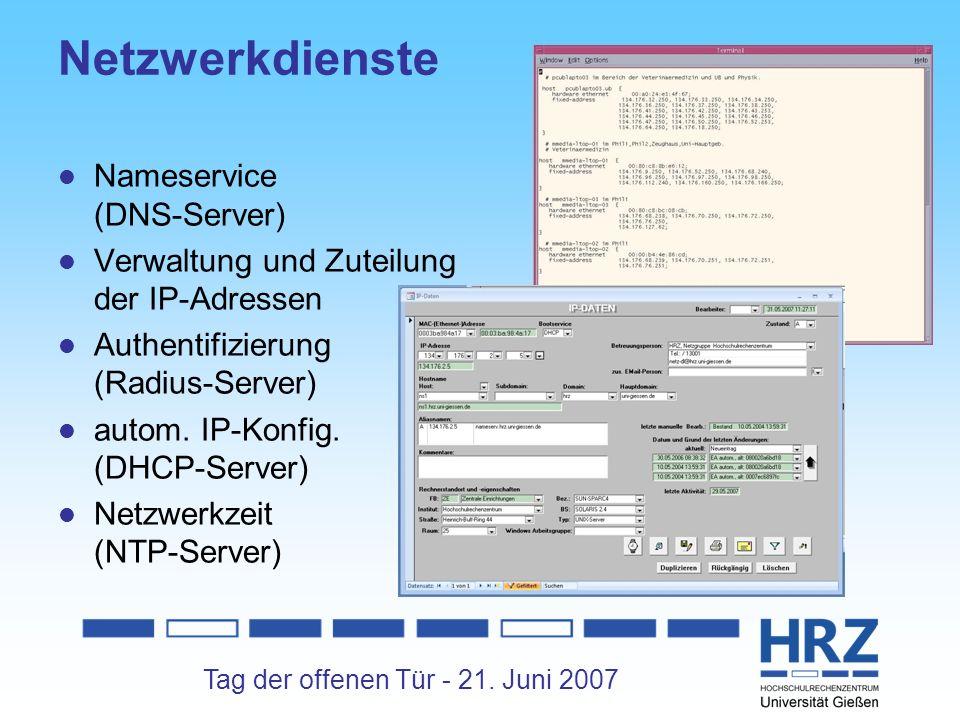Netzwerkdienste Nameservice (DNS-Server)