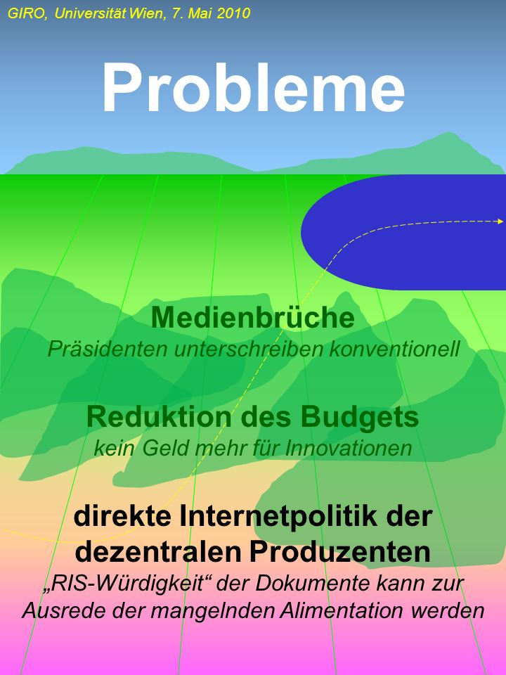 direkte Internetpolitik der dezentralen Produzenten